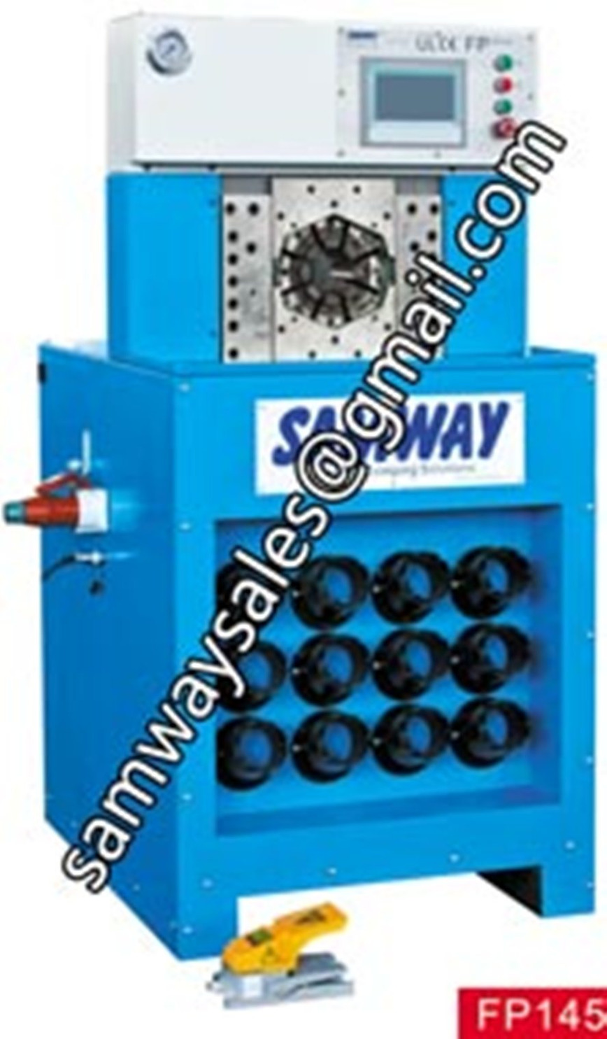 Logo Samway NEW FP145 Hose Crimping Machine
