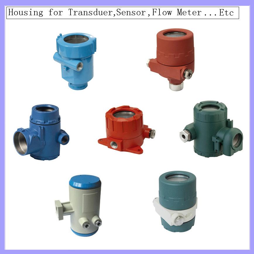 Logo Transducer/sensor/flow meter Housing