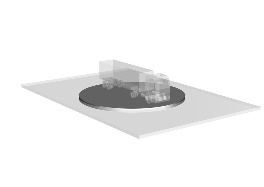 Logo Air / Water Caster Turntables