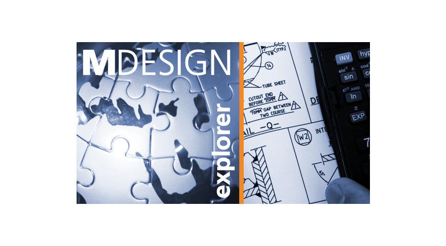 Logo MDESIGN explorer