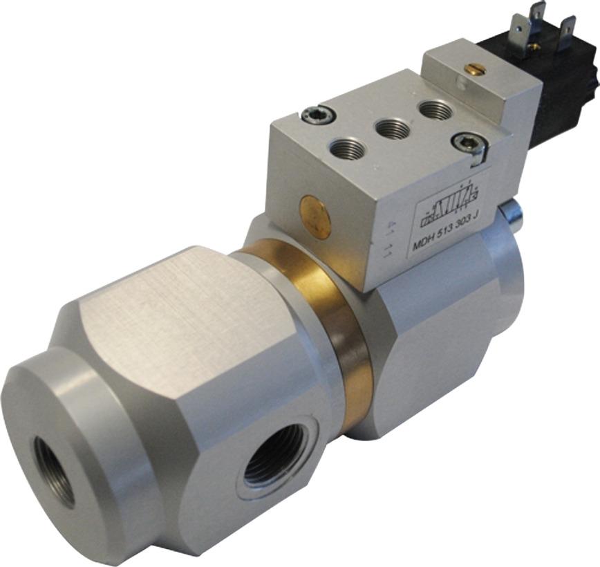 Logo Coaxial valve in cartridge design