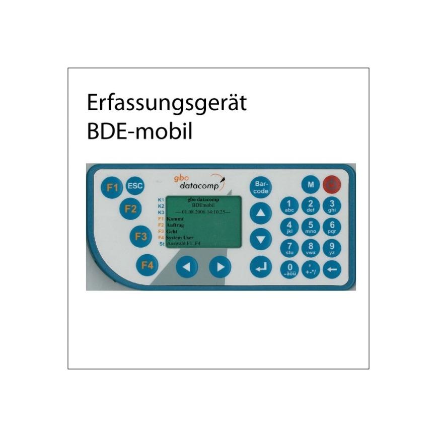 Logo BDEmobil - Zeiterfassung