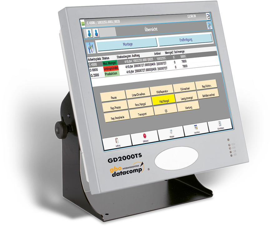 Logo GD2000TS - Touchterminal