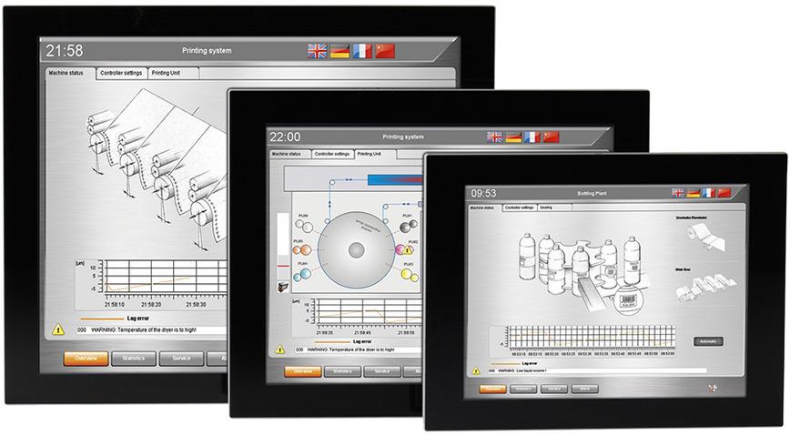 Logo Panel PCs single-touch