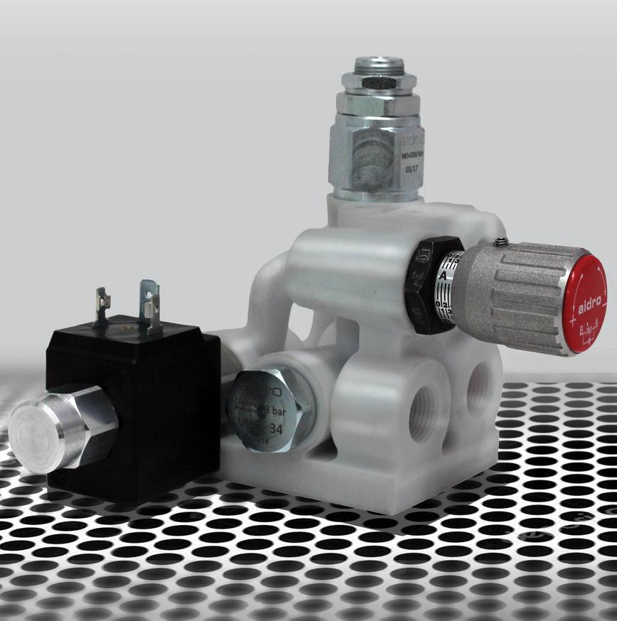 Logo Additive Manufacturing in Hydraulics