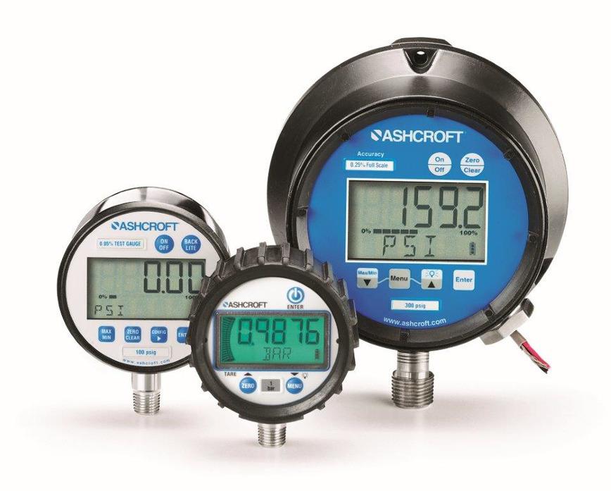 Logo Digital pressure gauges