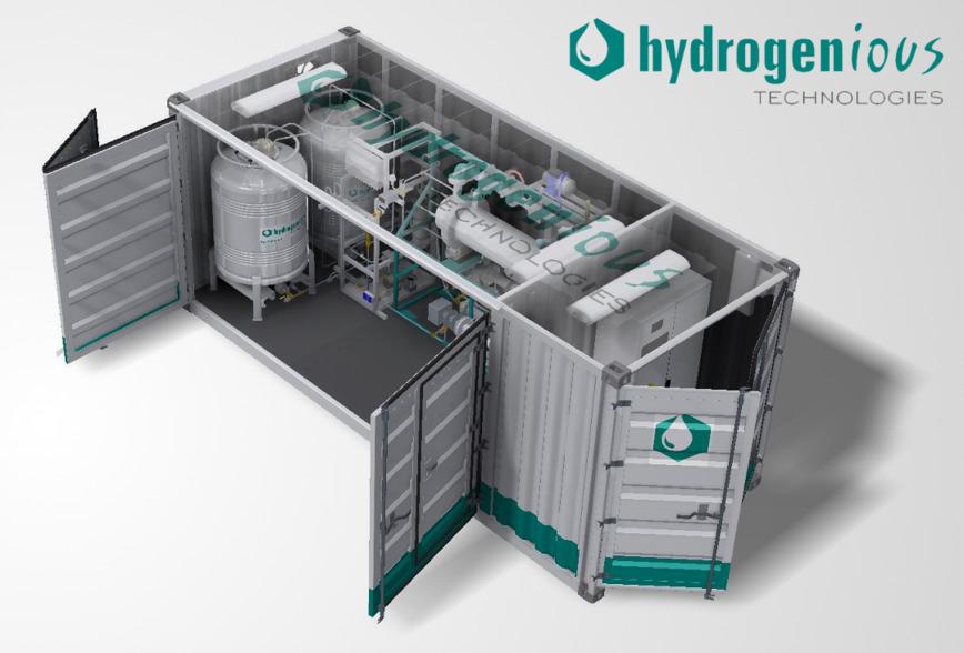 Logo Hydrogenious StorageBOX und ReleaseBOX