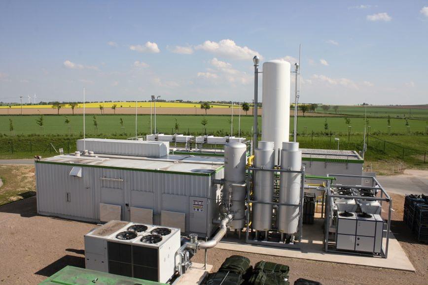 Logo Biogasanlagen
