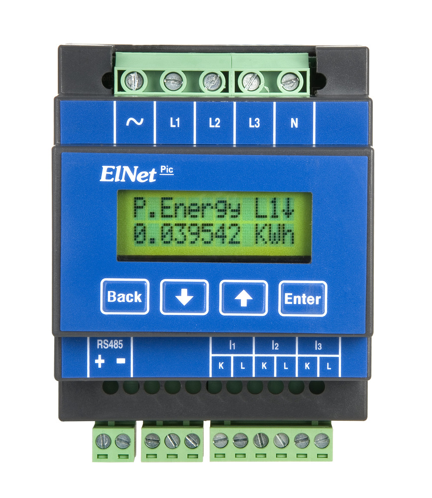 Logo ELNet Pic energy powermeter