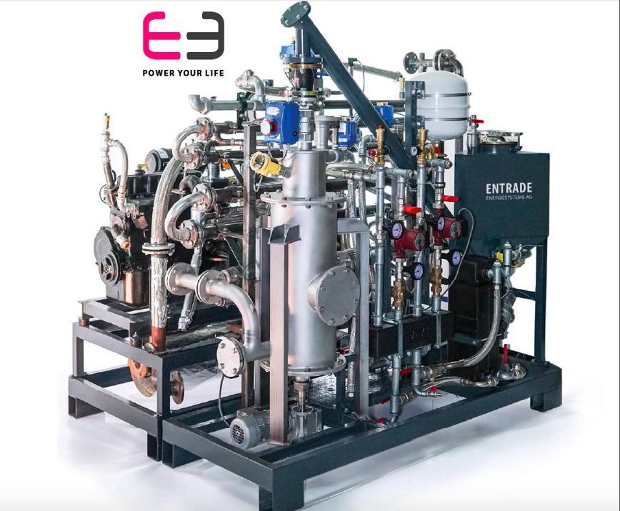 Logo E3 - das kleinste Bio-Kraftwerk der Welt