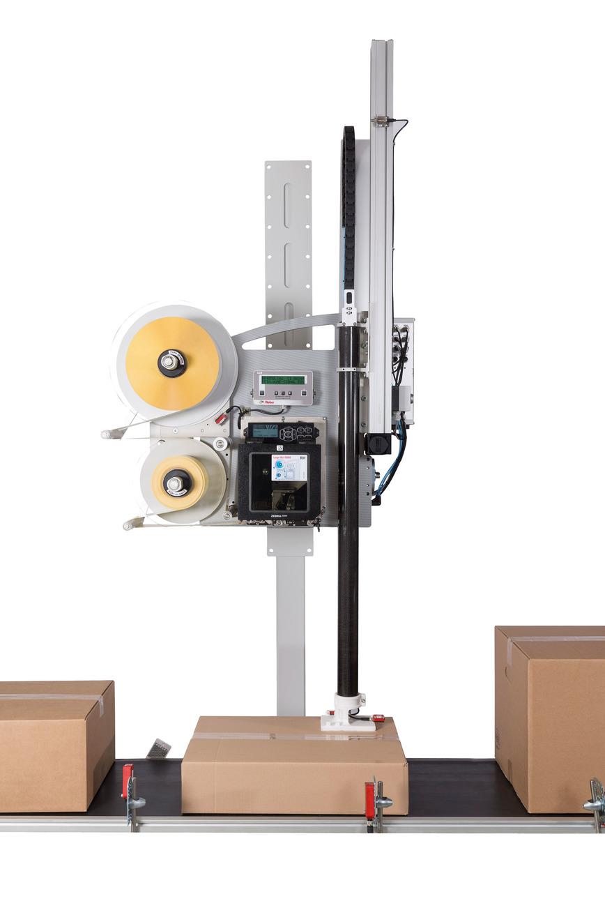 Logo Etikettendruckspender