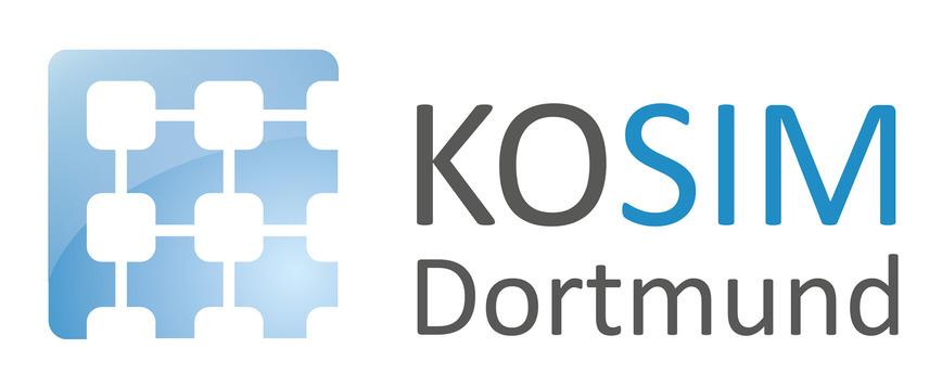 Logo KOSIM kompetenzNetz simulation dortmund
