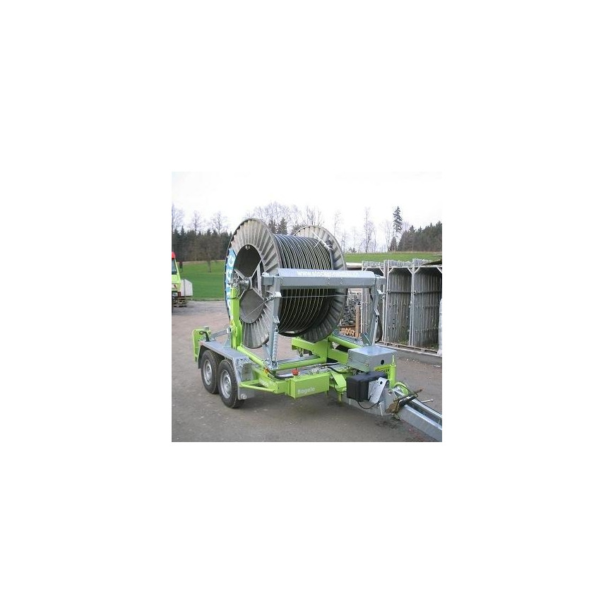 Logo Cable Drum, Tubing and Container Trailers