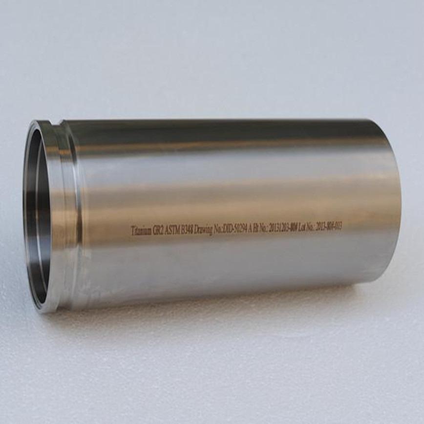 Logo Titanium Machined parts