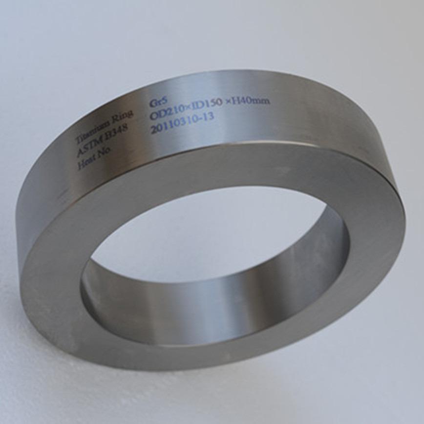Logo Titanium Ring