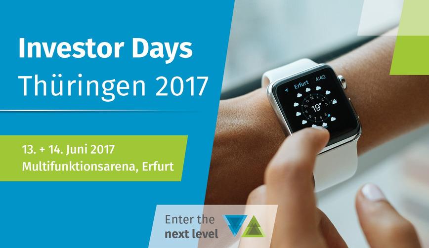 Logo Investor Days Thuringia 2017