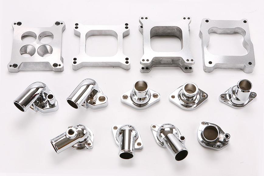 Logo carburetor and waterneck Zamak die casting parts
