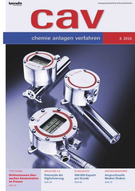 Logo cav chemie anlagen verfahren