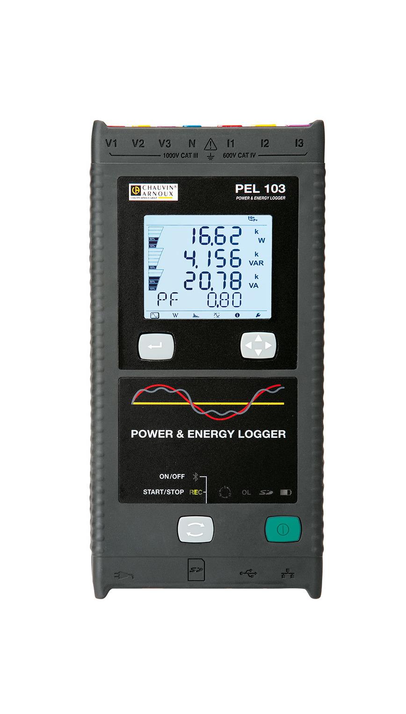 Logo Leistungs- und Energierecorder PEL 103