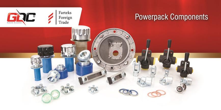 Logo Hydraulic Cylinder Components