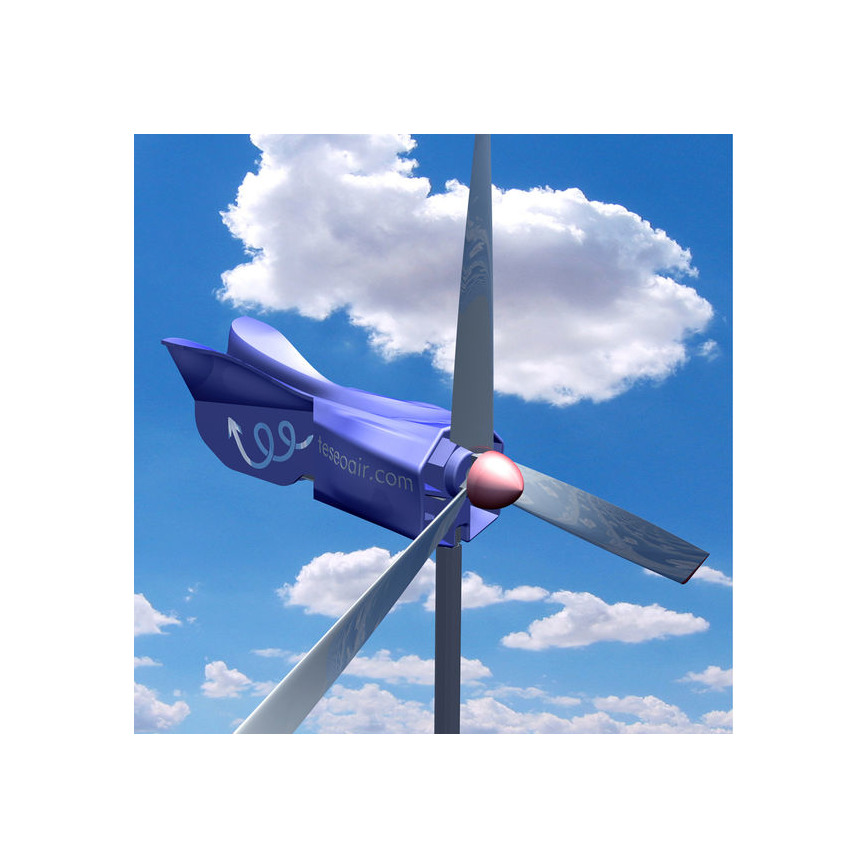 Logo Wind propelled compressed air generator