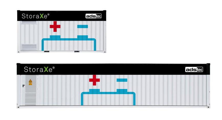 Logo StoraXe® Lithium-Ionen-Batteriespeicher
