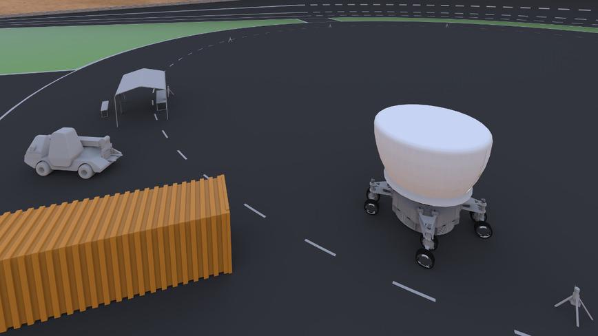 Logo auto.mobile-driving simulator