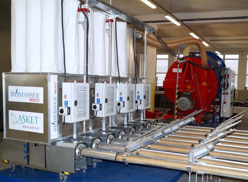 Logo BIOMASSER-briquetting press for biomass
