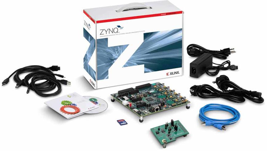 Logo Zynq-7000 SoC ZC702 Evaluation Kit