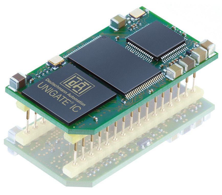 Logo All-In-One Bus node UNIGATE IC EtherCAT