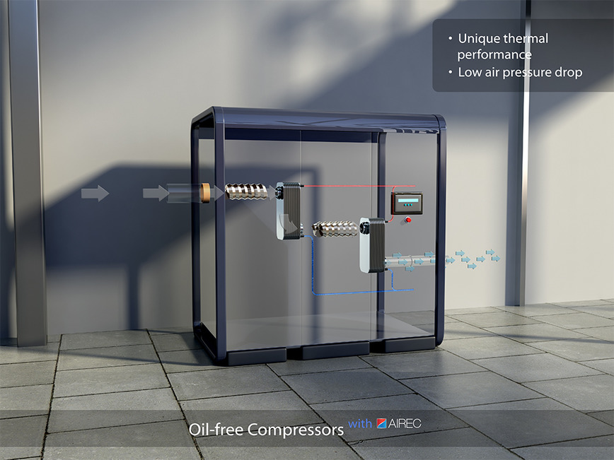 Logo Compressed air cooling