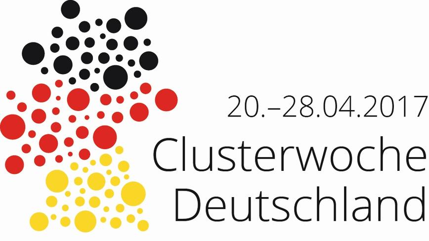 Logo 20.-28.04.2017 Clusterwoche Deutschland