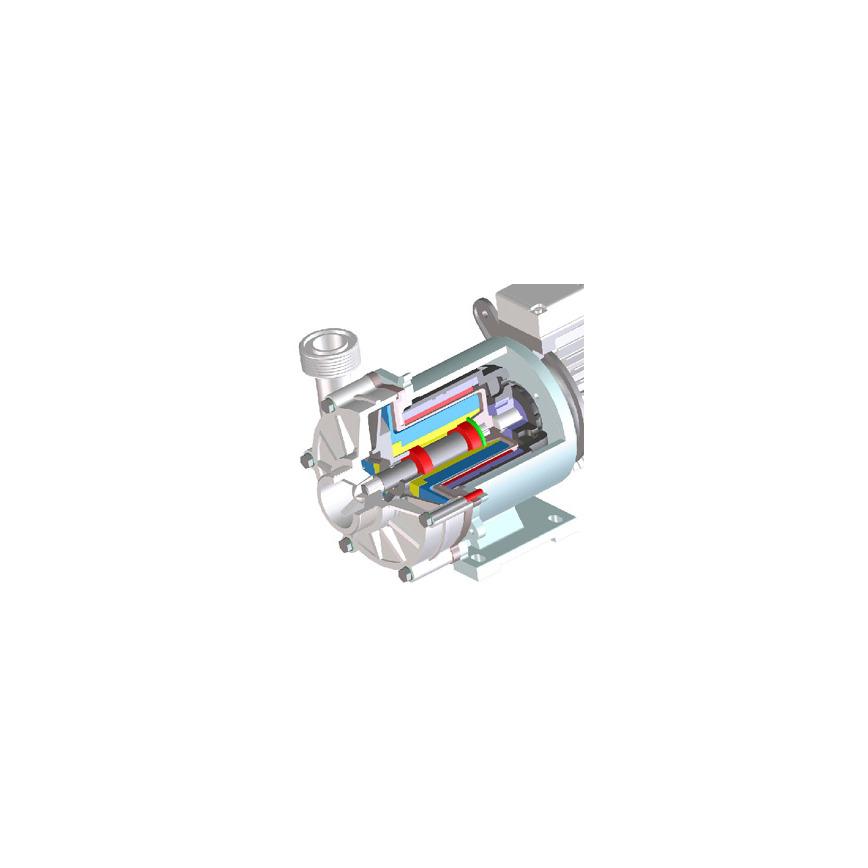 Logo SONDERMANN RM-TS centrifugal pump without sleeve bearing.
