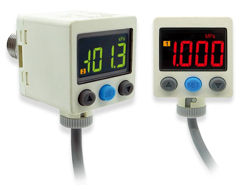 Logo Pressure sensor-corrosive fluid/gas use