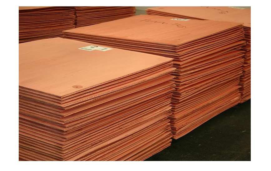 Logo High Quality Copper Cathode LME Grade A