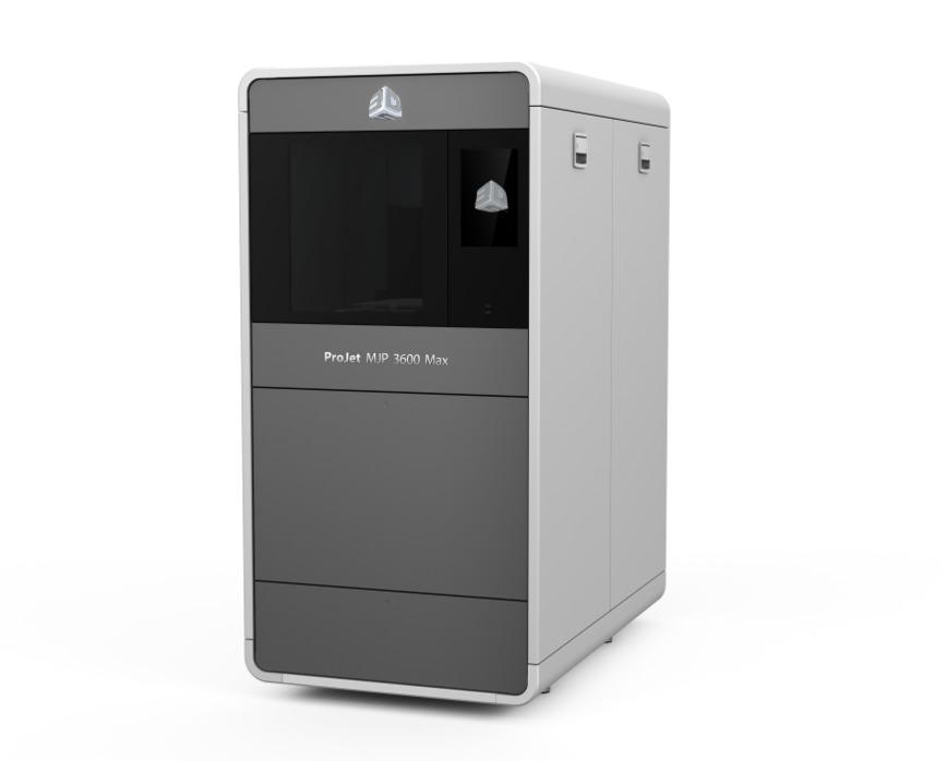 Logo Die Projet MJP 3D Druckerreihe