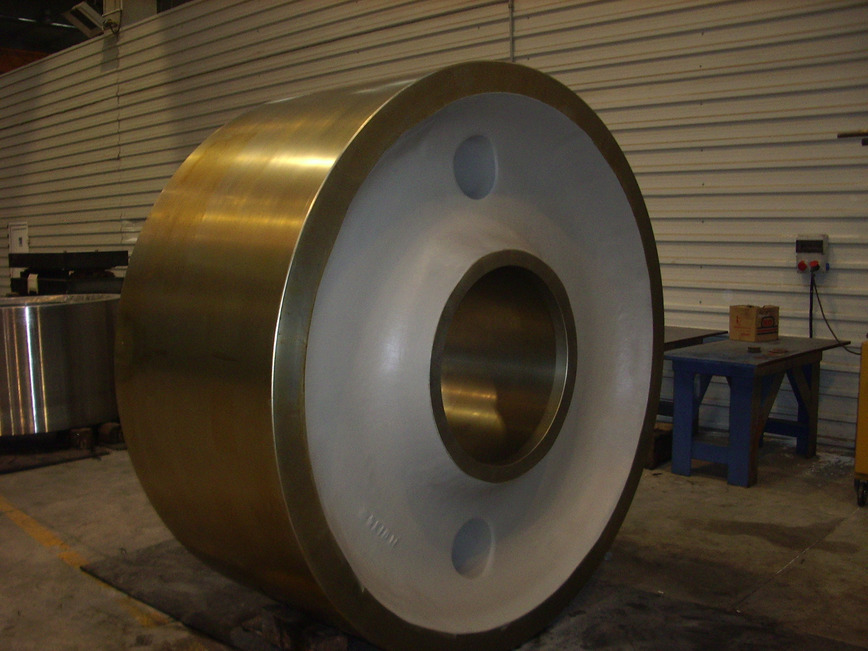 Logo Rollers for Cement Plants