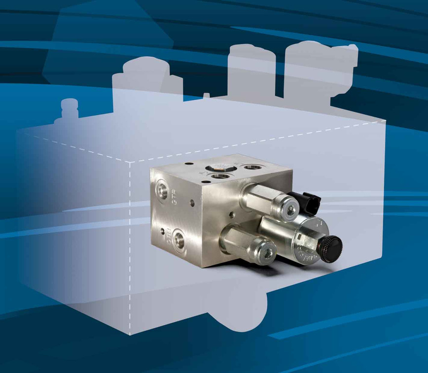 Logo Multi-Function Hydraulic Cartridge Valve