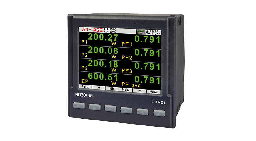 Logo ND30PNET-POWER NET. METER with PROFINET