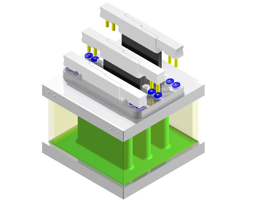 Logo Modularer Brennstoffzellenstack / Elektrolyseurstack