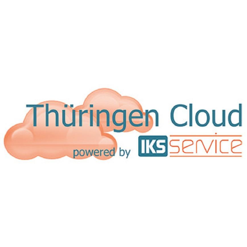 Logo Thueringen Cloud powered by IKS Service