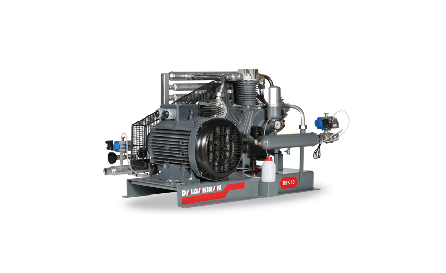 Logo DALGAKIRAN DBK Series Reciprocating Booster Air Compressors