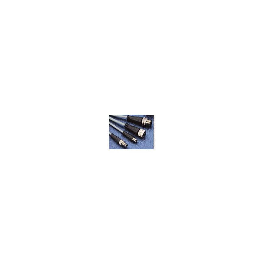 Logo Rundsteckerverbinder  mit Schraubeverschluss M8