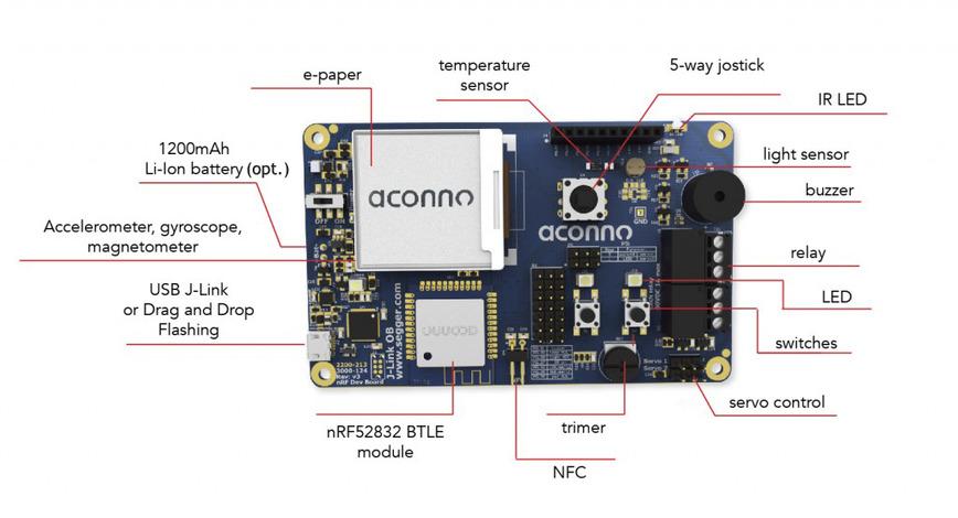 Logo aconno Bluetooth Smart Development Board