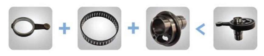 Logo Cam link combination bearing