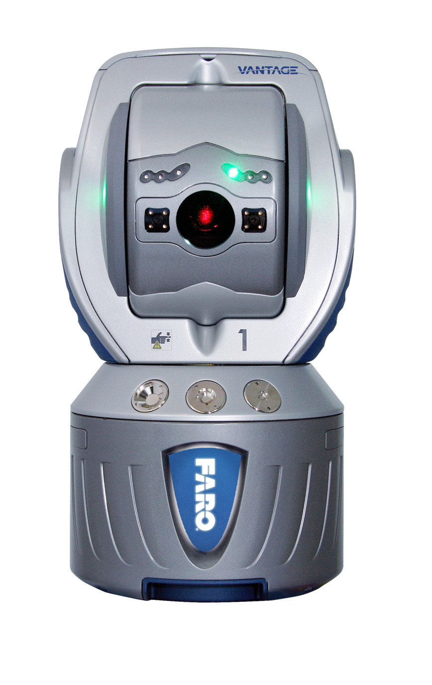 Logo FARO Laser Tracker Vantage