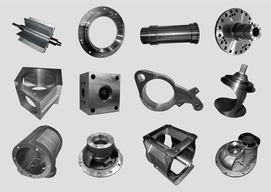 Logo Machined metal parts