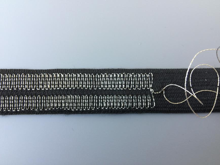 Logo Textiler Dehnungssensor