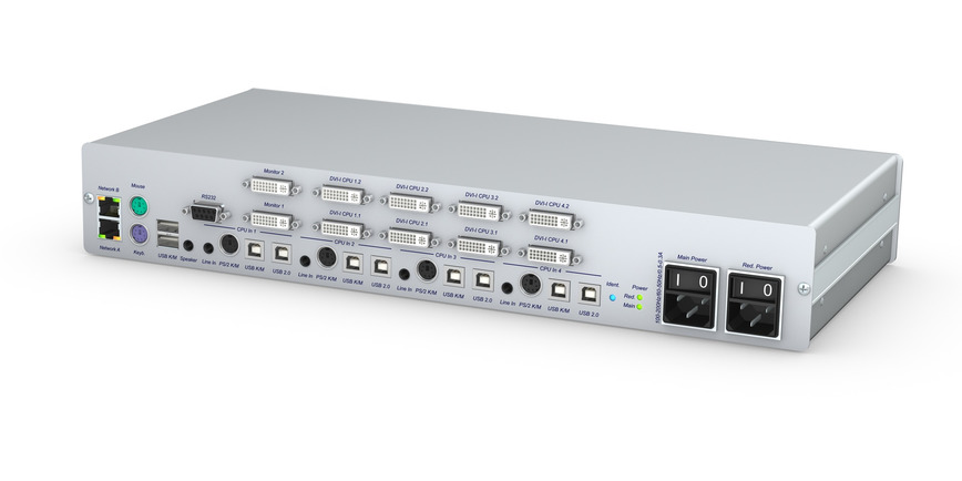Logo DVI KVM Switch - DL-MUX