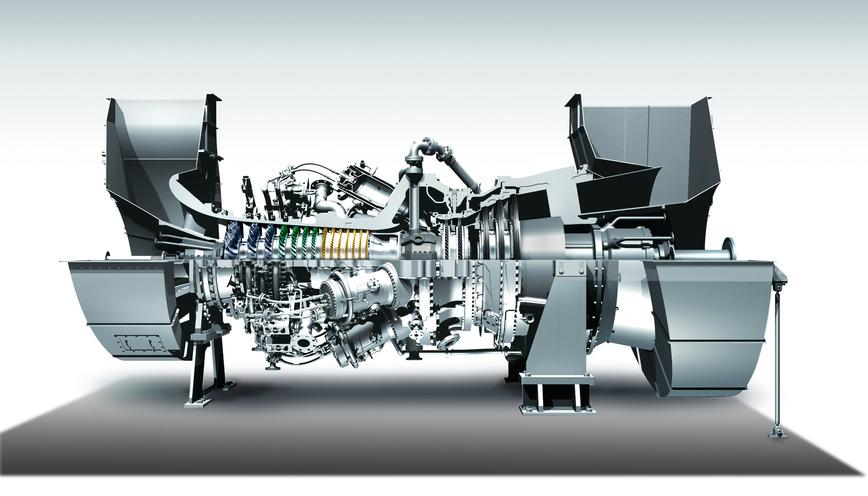 Logo Gasturbinen Generator Aggregat GPB300D
